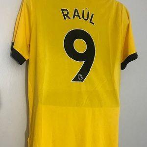 bf11c4e2b45 adidas Shirts - Raul Jimenez  9 2019 Wolverhampton New Jersey XL